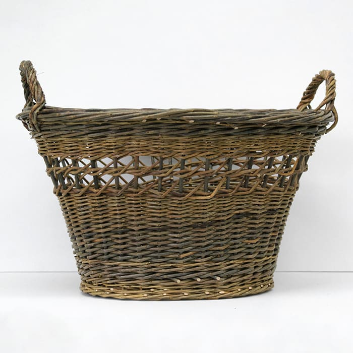 Small Oval Laundry Basket