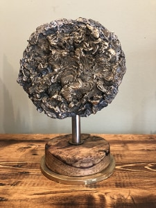 'Moonscape' Salvaged Metal Sculpture