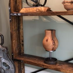 'Library' Rustic Bookshelf - SOLD
