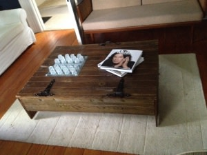 'Shed' Reclaimed Wood Coffee Table - SOLD