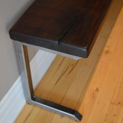 'Leonhardt' Black Walnut Bench - SOLD