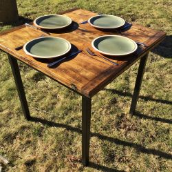 'Kuenzl' Folding Dining Table - SOLD