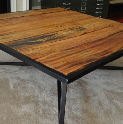 'Michael' Loose Board Large Coffee Table - SOLD