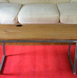 'Urban' Tall Salvaged Barn Board Coffee Table - SOLD