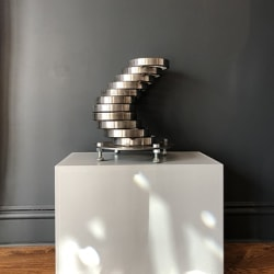 'You Decide' Salvaged Steel Sculpture