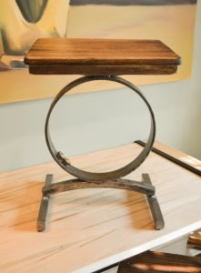 'Sandra' Entrance Hall Stool - SOLD