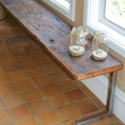 'Kevin' Rustic Bench - SOLD