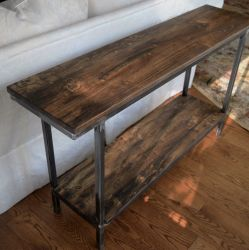'Elyse' Console with Shelf - SOLD