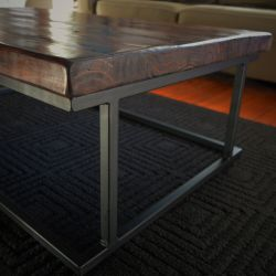 'Tait' Salvaged Wood & Metal Coffee Table