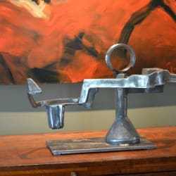 'Embrace' Salvaged Steel Sculpture