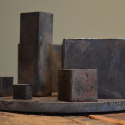 'Cooperative' Salvaged Metal Sculpture