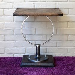 'Carolyn' Salvaged Wood Side Table - SOLD