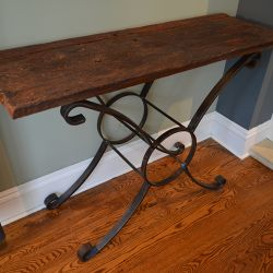 'Tradition - Old World' Console Table