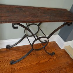 'Tradition - Old World' Console Table - SOLD