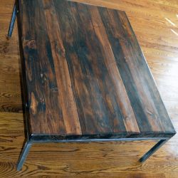 'Rebecca' Salvaged Wood Table - SOLD