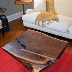 'Barbed' Live Edge Coffee Table - SOLD