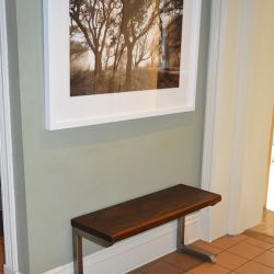 'Biscott' Black Walnut Bench - SOLD