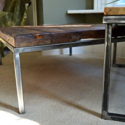 'Anita' Salvaged Wood Table - SOLD