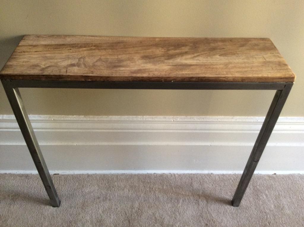 Balanced 2 Leg Narrow Console Table SOLD
