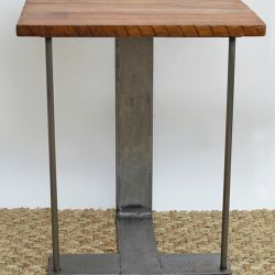 'Caribbean Walnut Eclectic'  Side Table - SOLD