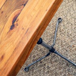 'Kristian' Fire-damaged Wrench Table