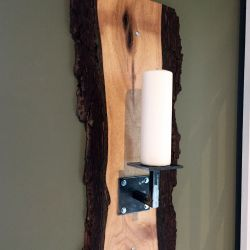 'Bob 2' Live Edge Candle Holder