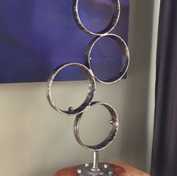 '1963' Salvaged Metal Sculpture