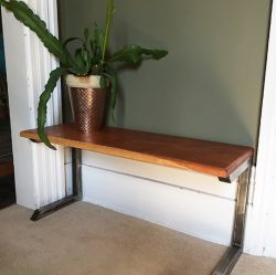 'Little' Reclaimed Wood Bench - SOLD