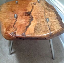 'Toronto' Bosse Live Edge Table - SOLD
