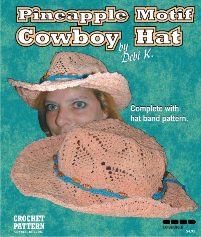 Cowboy Hat Crochet Pattern Crochet Do Dads