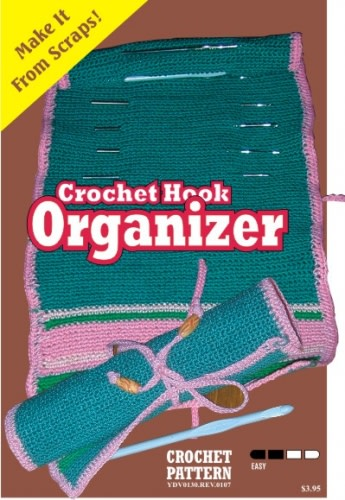 Crochet Hook Holder Crochet Pattern