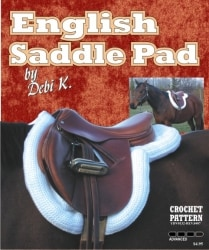 English Saddle Pad Crochet Pattern
