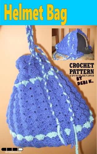 Helmet Bag Crochet Pattern