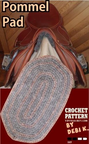 Pommel Pad Crochet Pattern
