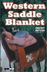 Saddle Blanket Crochet Pattern
