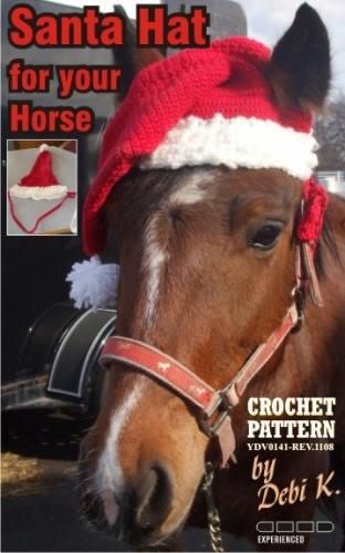 Santa Horse Hat Crochet Pattern