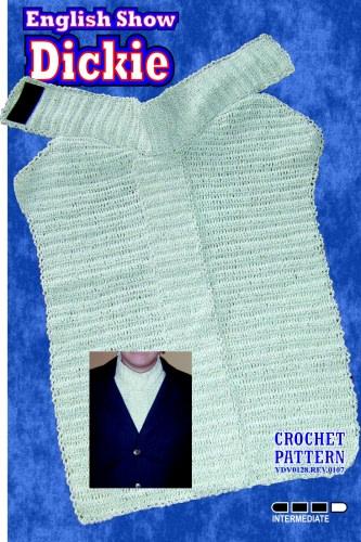 Show Dickie Crochet Pattern
