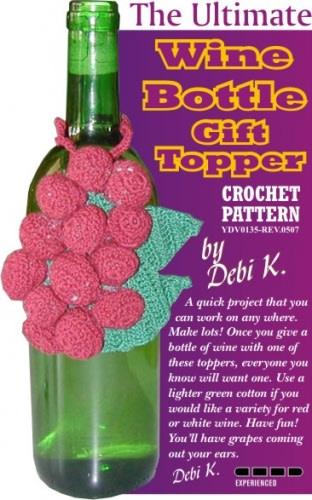 Wine Bottle Decoration Crochet Pattern