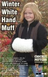 Winter White Hand Muff Crochet Pattern