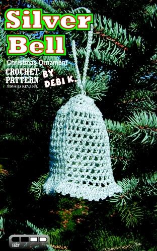 Silver Bell Ornament Crochet Pattern