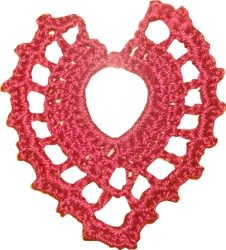 Tear Drop Motif Crochet Pattern (free)