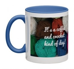 Coffee & Crochet Kind of Day Mug