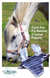 Cotton Ear Fly Bonnet Crochet Pattern