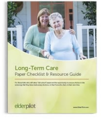 Long-Term Care Checklist & Resource Guide (Digital Only)