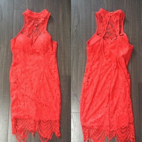 Crimson Lace