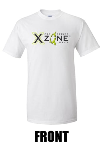 Pro Series X Zone Branded T-Shirt White