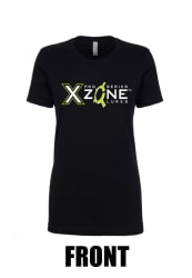 Pro Series X Zone Ladies Fitted T-Shirt Black
