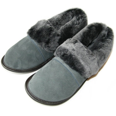 Suede & Sheepskin Slippers