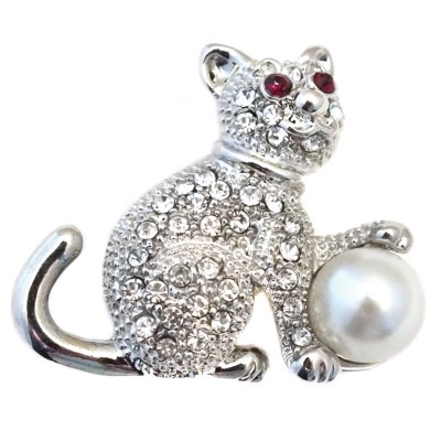A Purrfect Brooch
