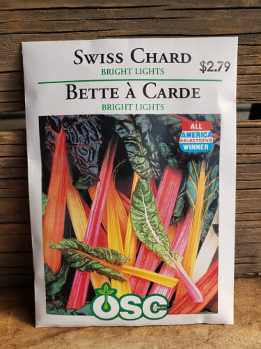 Seeds - Swiss Chard (bright lights)